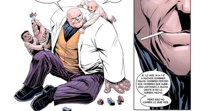Kingpin o Buscando el lado humano de un jefe mafioso e inescrupuloso